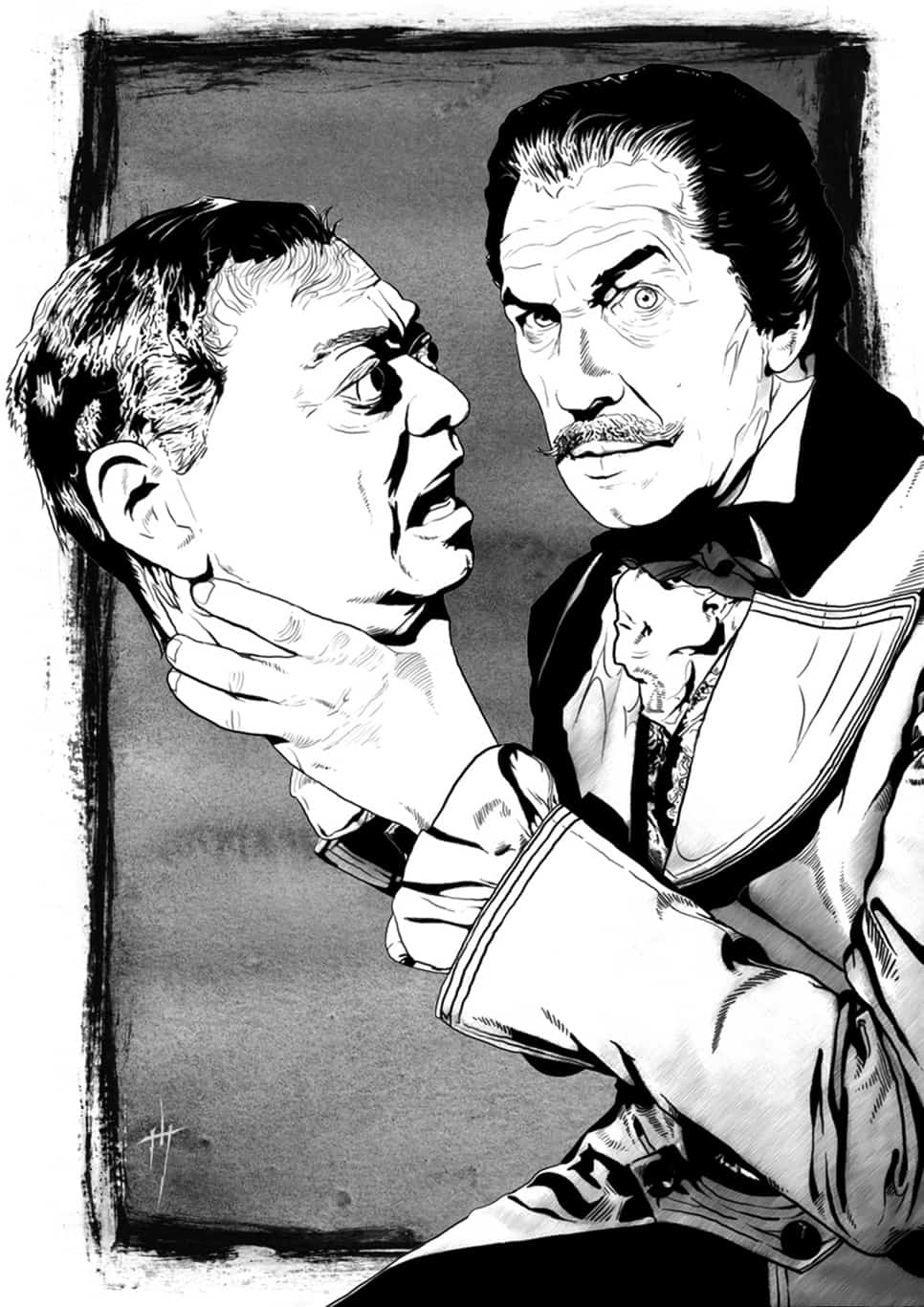 Vincent Price illustration