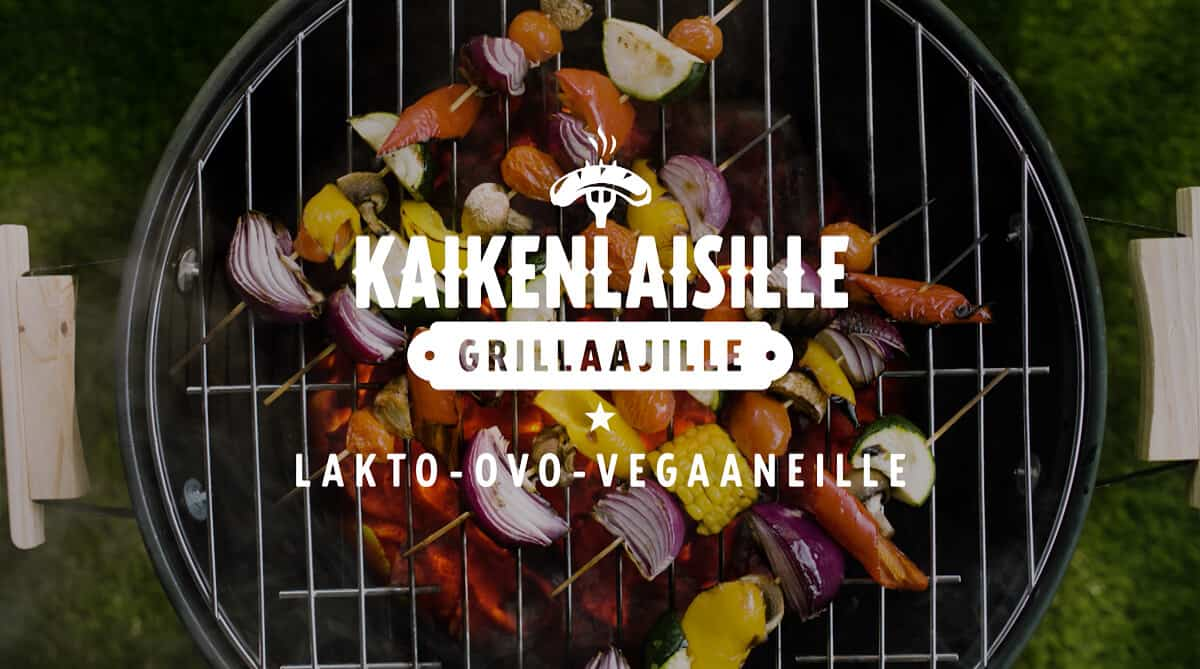 K-Citymarket - Kaikenlaisille Grillaajille - Lakto-ovo-vegaaneille