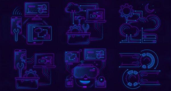 Vanite | Montel Intergalactic - Custom illustrations and Website UI/UX design - Custom iconset 1