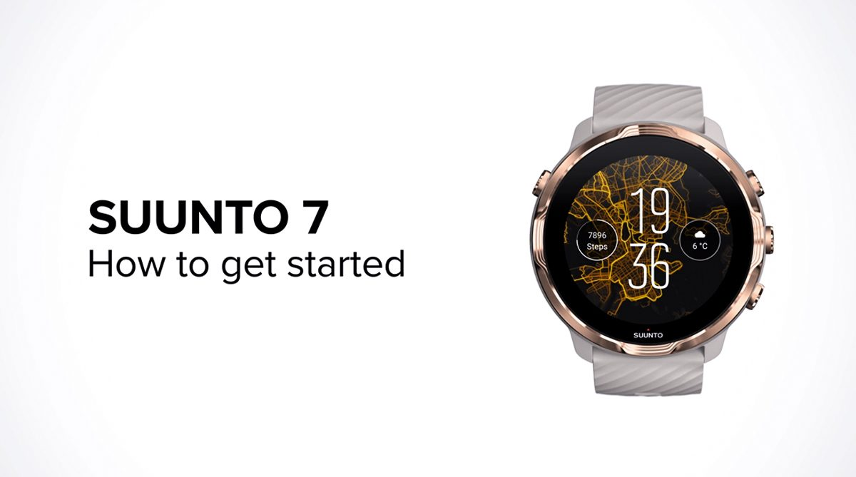 Suunto How-to animations for the new Suunto 7
